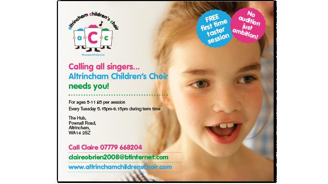 Children's Choir marketing